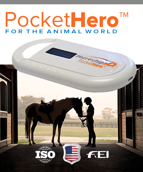 PocketHero™ Microchip Reader