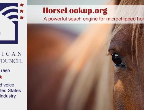 American Horse Council Provides Microchip Lookup Tool